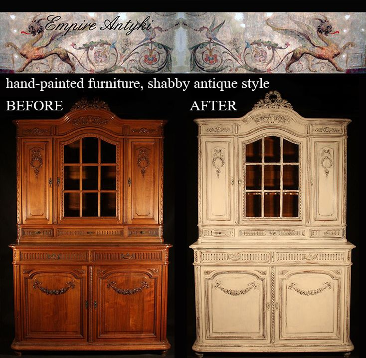 Our hand-painted furniture more www.empire-antyki.com