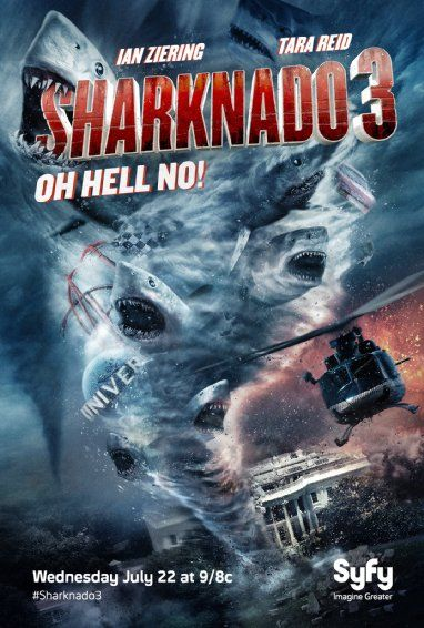 Review: SHARKNADO 3: OH HELL NO! - http://filmfreak.org/review-sharknado-3-oh-hell-no/