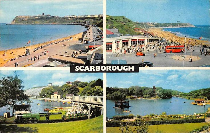 Scarborough North Bay, Open Air Theatre, Corner Cafe, Peasholm Park 1969 in Collectables, Postcards, Topographical: British | eBay!