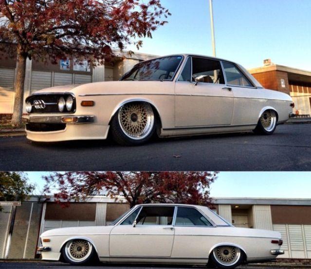 Audi 100. Lower is better.