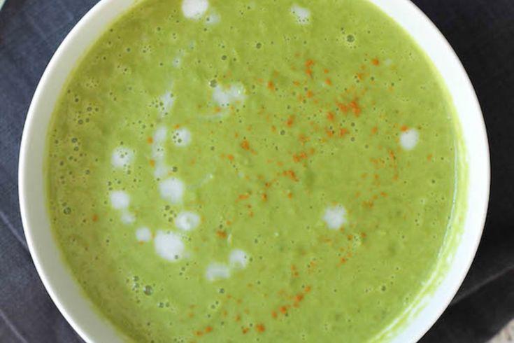 Thai Spring Pea Soup [Vegan, Gluten-Free]