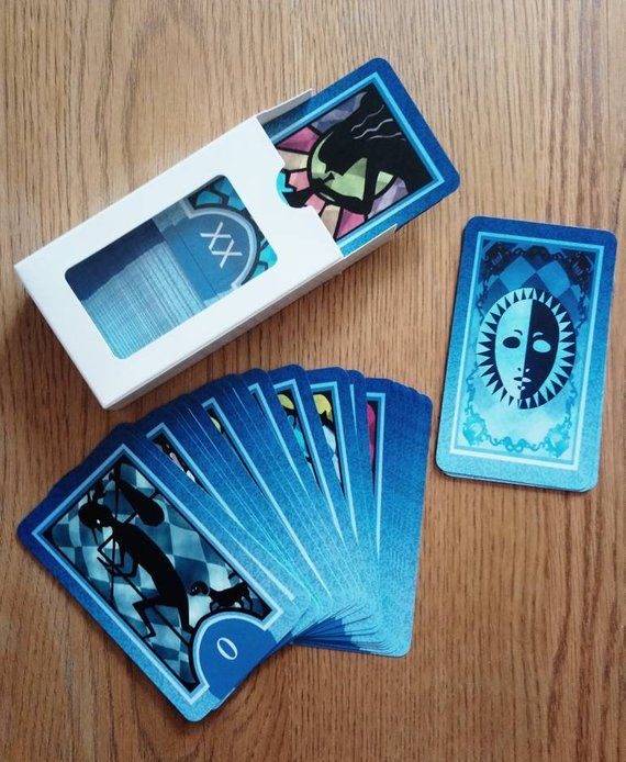 Full Persona 3 4 Tarot Cards Set All 78 Free Shipping Worldwide