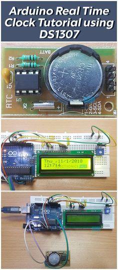 Arduino Real Time Clock (RTC) Tutorial using DS1307   ESP32