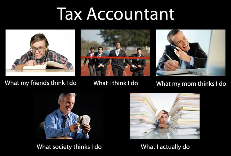 Accounting Humor - A Tax Accountant