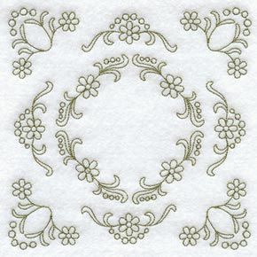 Machine Embroidery Designs at Embroidery Library! - Color Change - B3490 8412