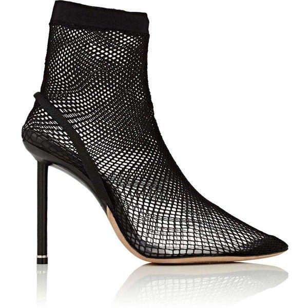 ca3a384bedb Alexander Wang Women's Caden Fishnet Ankle Boots (12 320 ZAR ...