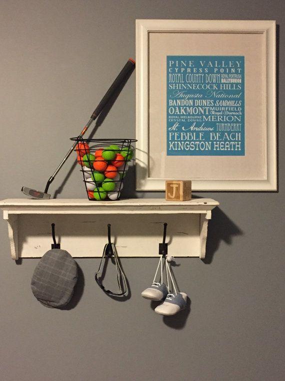 Golf Nursery Print DIGITAL OR PRINTED by KatesKanvas on Etsy. 267 best golf    images on Pinterest   Golf art  Golf baby and