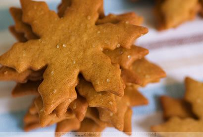 Pepparkakor (Swedish Christmas Ginger Cookies)