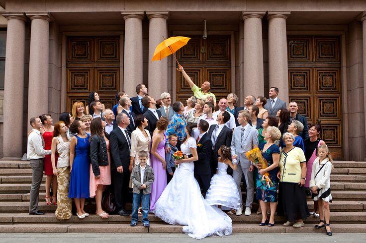Großes Hochzeits Gruppenfoto Ideen