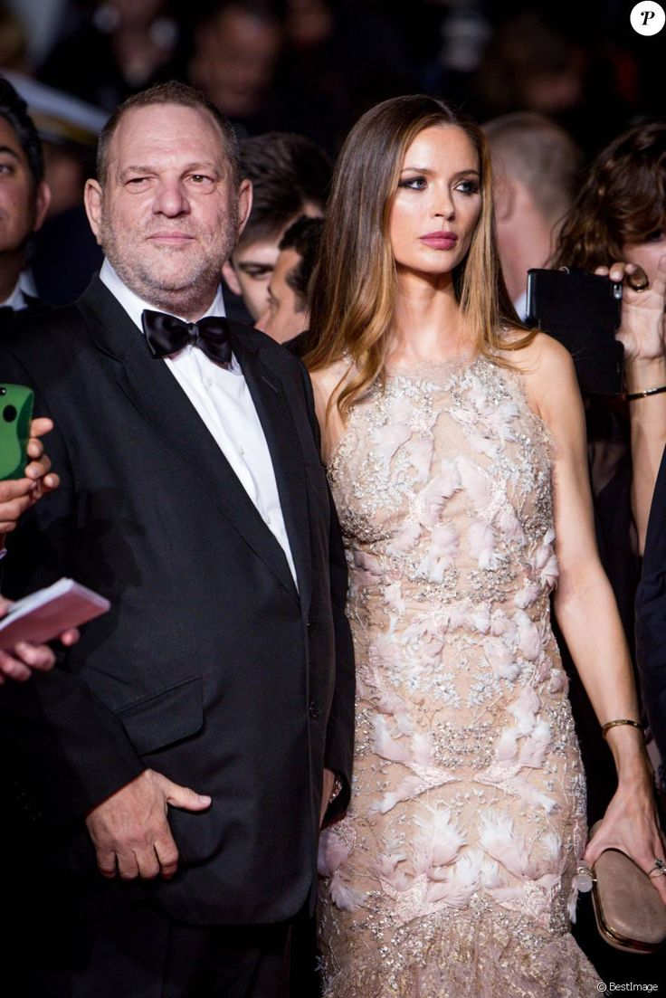 "Harvey Weinstein et sa femme Georgina Chapman - Montée des marches du film ""Hands of Stone"" lors du 69ème Festival International du Film de Cannes. Le 16 mai 2016. © Dominique Jacovides- Cyril Moreau/Bestimage"