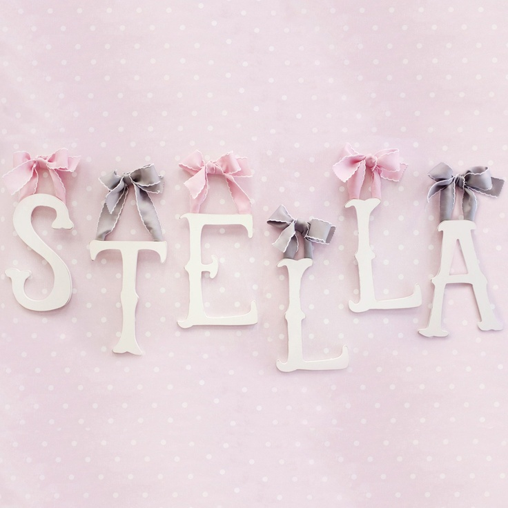 27 best Hanging Wall Letters and Shelf Letters images on Pinterest ...