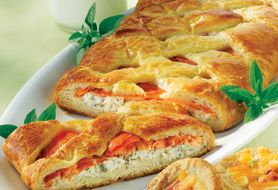 Smoked Salmon Braid Recipe