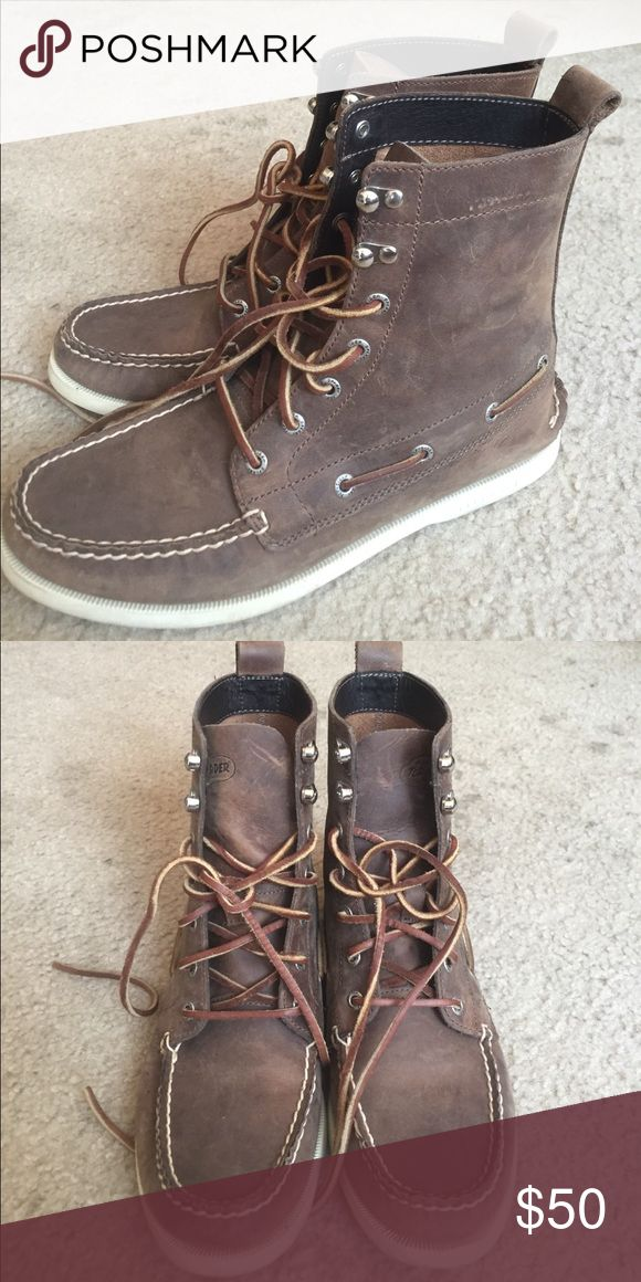 Men's Top Sider Sperry Boots Sperry boots for men in great condition. Hardly any wear. Sperry Top-Sider Shoes Boat Shoes