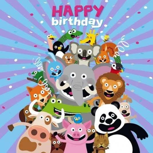 1513 Best Images About Happy Birthday Greetings Lechezz Animals Wishing Happy Birthday