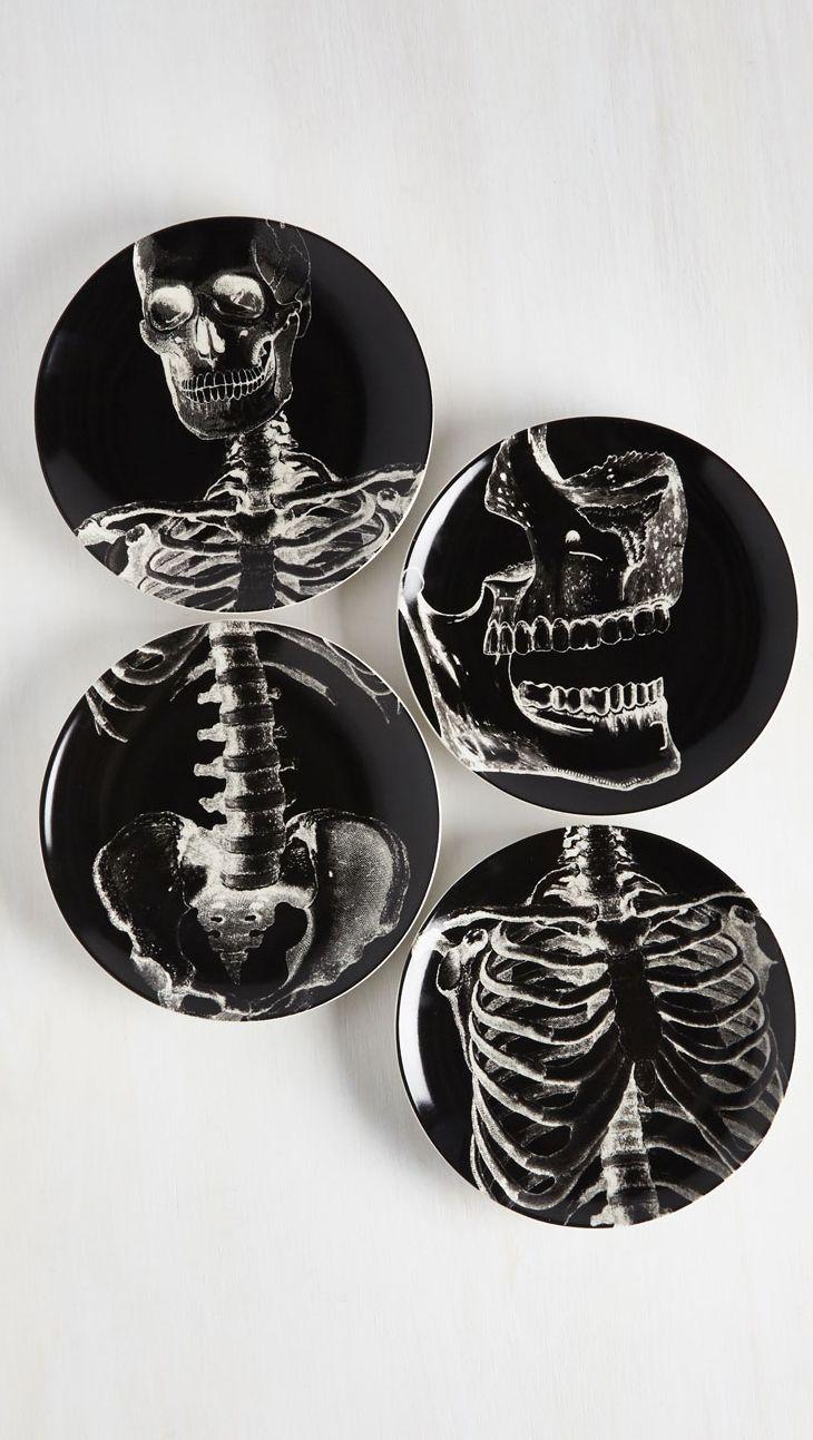 skeleton plate set