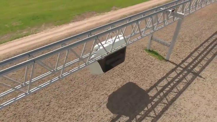 SkyWay - испытание 14 местного ЮНИБУСА - в движении!