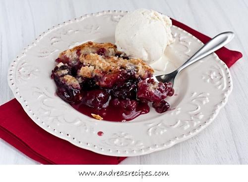 Cherry Pudding Cake, for Jennie