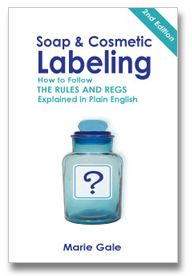 Marie's Soap & Cosmetic Labeling Book, $24.95