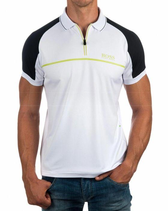 Polos Hugo Boss Blanco - Prek Pro
