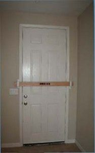 Use the Zombie Bar to Secure Your Doors Against Burglaries and Home Invasions Posted on January 15, 2014
