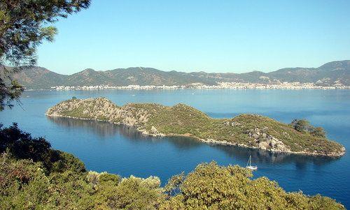 Cennet Adasi (Cennet Island) nearby Marmaris