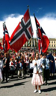 National day celebrations in Oslo, Norway - Photo: Nancy Bundt/Innovation Norway