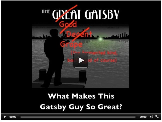 The Great Gatsby | In a nutshell via www.shmoop.com/great-gatsby