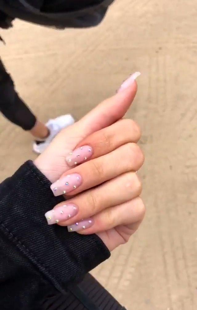 Pinterest Jaeelizabethh Nails In 2019 Square Acrylic
