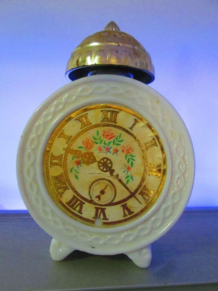 avon relogio despertador perfume antigo opalina aroma
