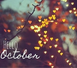 Hello October. Fall