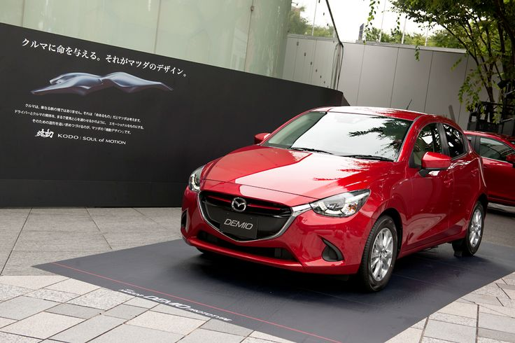 DEMIO is a compact car manufactured by Mazda and released in Japan, this compact car outside of Japan is named Mazda 2... #Mazda2 #マツダデミオ
