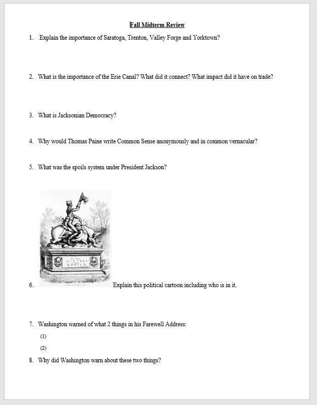 38++ America the story of us boom worksheet Information