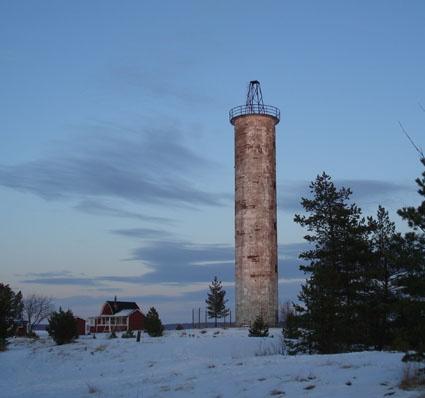 Harrbåda light house in Kokkola, Finland