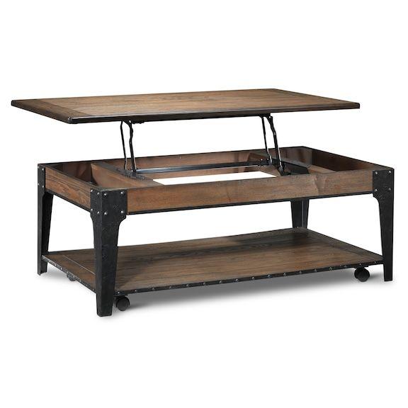 Lakehurst Lift Top Coffee Table Aged Oak Leon S Coffee Table Lift Top Coffee Table Ottoman In Living Room