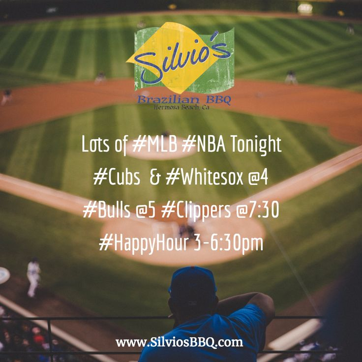 Lots of #MLB #NBA Tonight #Cubs & #Whitesox @4 #Bulls @5 #Clippers @7:30 #HappyHour 3-6:30pm 1/2 OFF #Appetizers #CraftBeer #HouseWine #CraftCocktails