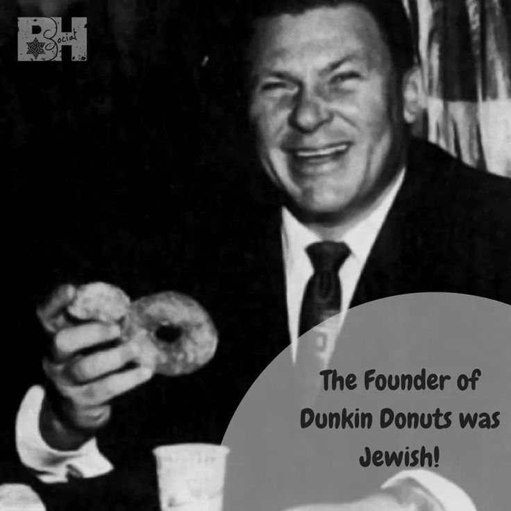 Did you know? William Rosenberg was an American #Jewish entrepreneur - best known for founding the Dunkin' Donuts franchise in 1950 in Quincy, Massachusetts.  #NationalDoughnutDay