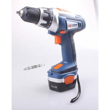 d7ec06364b530 Cordless drill DEXTER POWER 14.4V 2 bat Ni-Mh 1.5 Ah | Achieve your ...