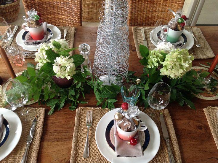 Christmas in Australia, Table setting