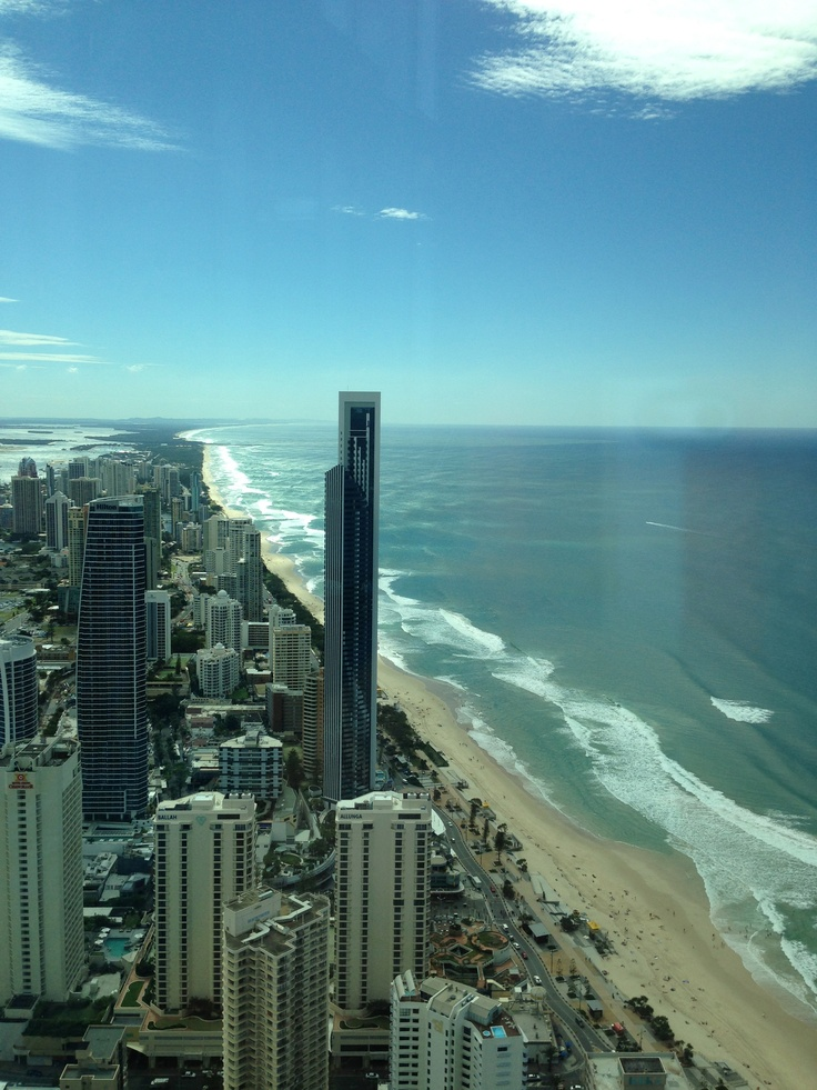 the view north from the Q1 tower. absolutely brilliant!