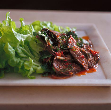 Neil Perry's Spicy Beef Salad - Eatlove - Temple & Webster Journal