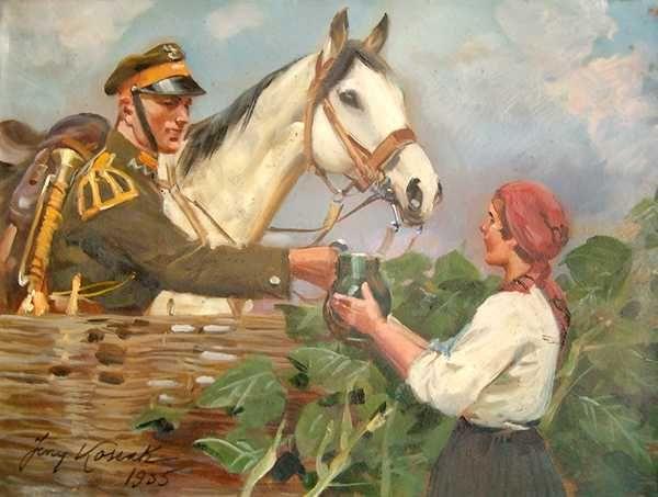 Nice Encounter- Jerzy Kossak