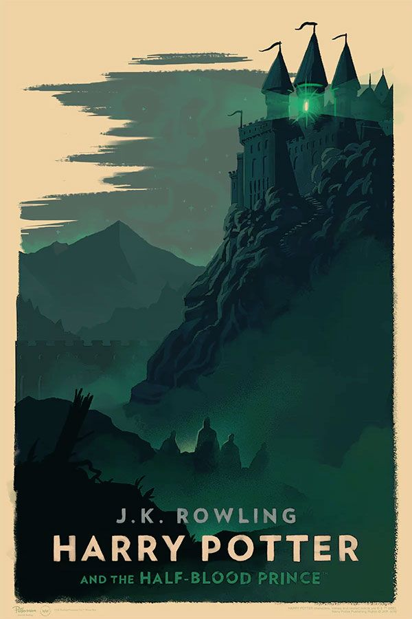 Olly Moss Unveils A Stunning Series Of Official Harry Potter Posters