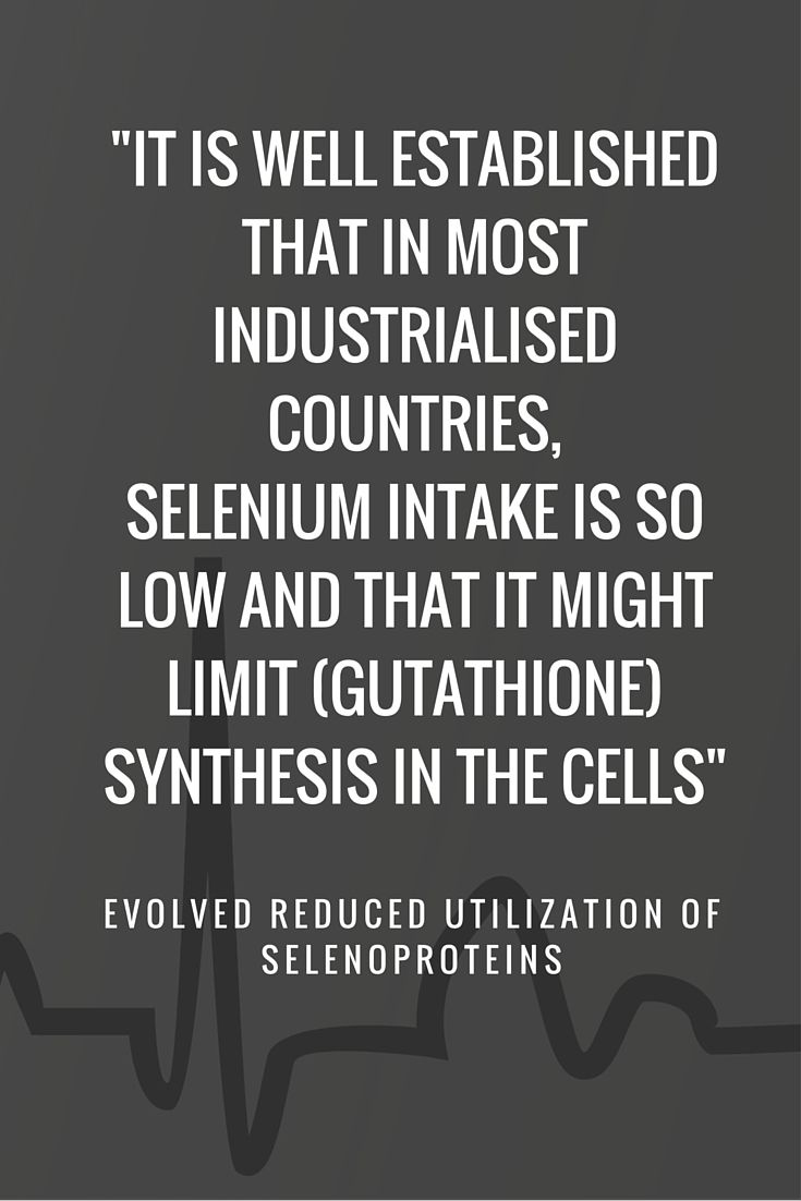 Heart Failure from Selenium Can be Because of Selenium Deficiency and Low Glutathione Levels
