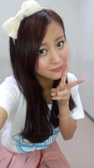 Hagiwara Mai (she looks so cute here!)