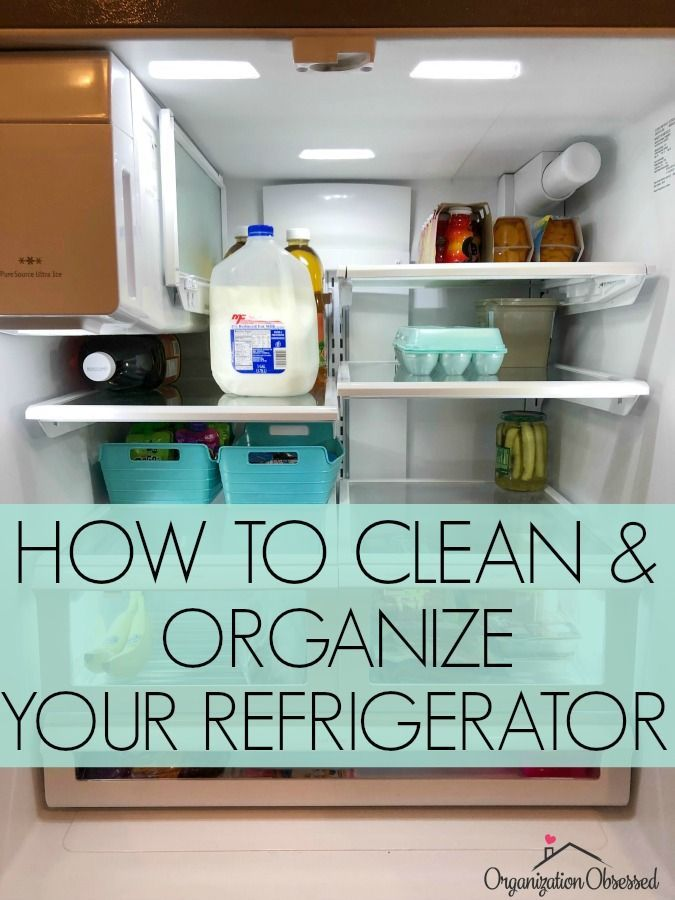 How To Clean Refrigerator Clean Refrigerator How To Clean