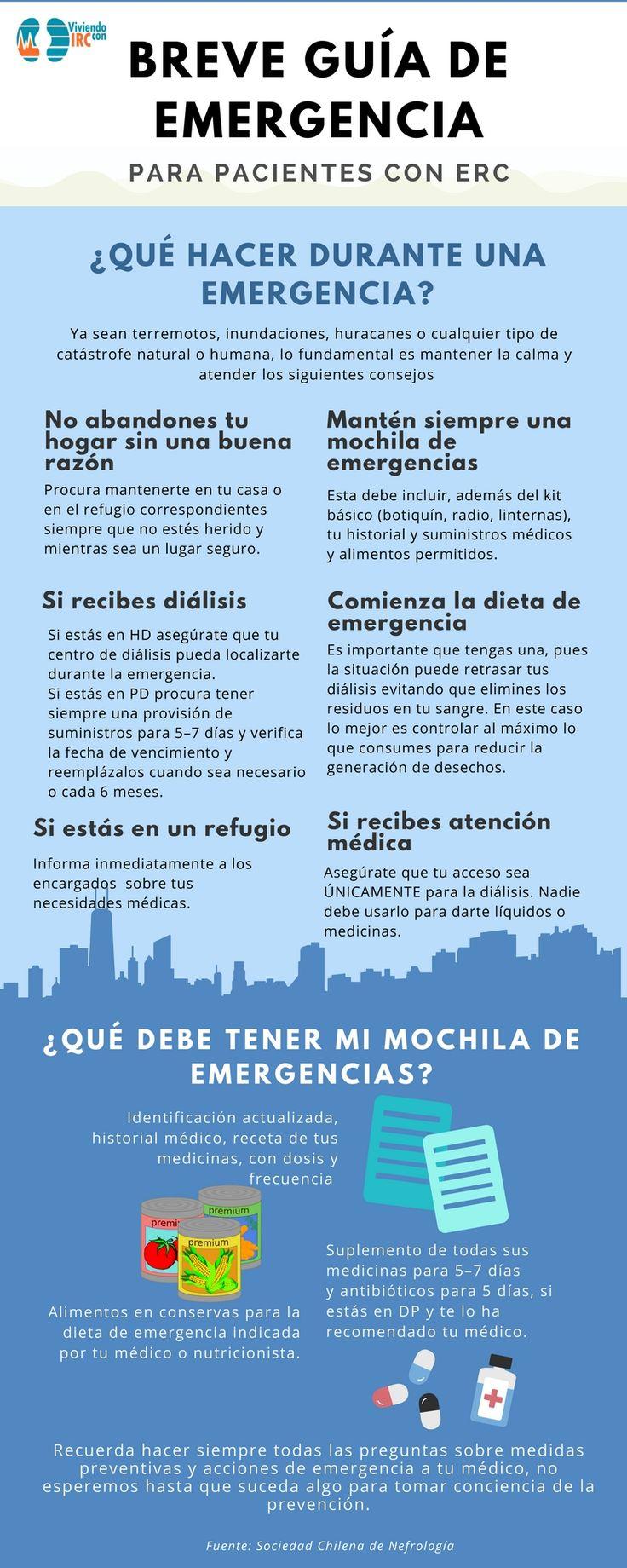 guía, emergencias, pacientes, salud renal, diálisis, terermotos, huracanes, inundaciones, enfermedad renal crónica