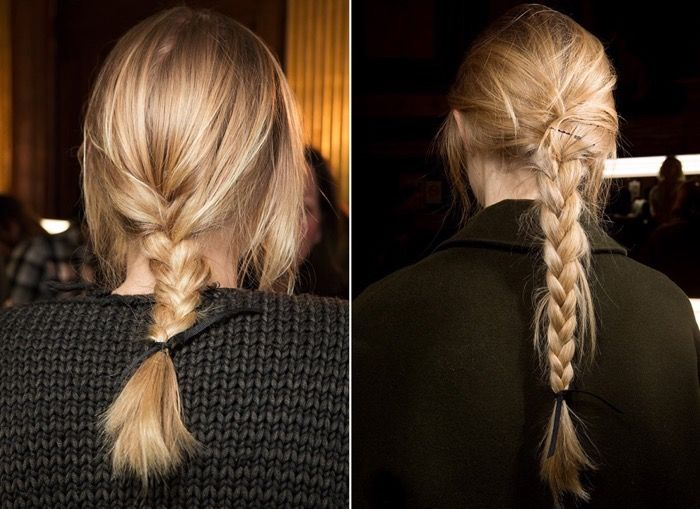 Тенденции 2016: причёски с плетением