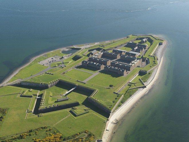 Fort George near Ardersier, Inverness, Scotland - Opened 1769