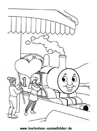 ausmalbild thomas die lokomotive zum kostenlosen ausdrucken und ausmalen. ausmalbilder | mal