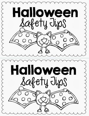 Halloween safety printable worksheets creative for Halloween safety coloring pages free